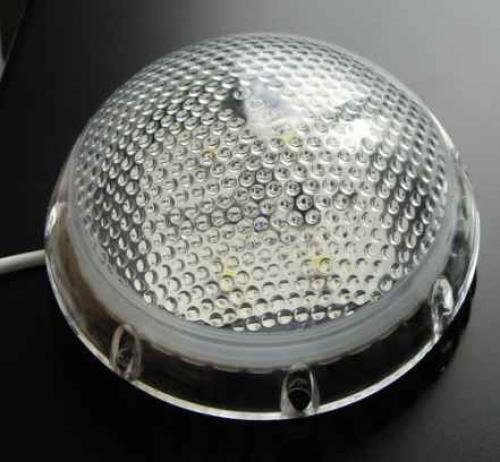 12v AC/DC Cool White 6 x 1W Leds Dome Light (600) Lumen [Dome600]  12 - 30v DC (Voltage regulator Included in the product)  Lumin Output  6 x 1 w leds  = 600 Lumin (100) watt equiv)  Wide angle 12